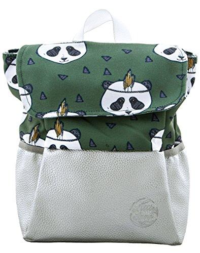 Little Lump Kinderrucksack Jungen 8L Brustgurt Khaki