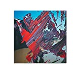 YANGNA Gerhard Richter Abstrakt 40 Poster, dekoratives