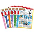 """IQCrew by AmScope Microscope Experiment & Activity Cards for Kids & Students -""""Microscopic Adventures"""" (Set of 6 Experiment Cards)"""