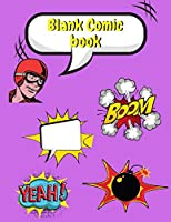coloring comic book for kids