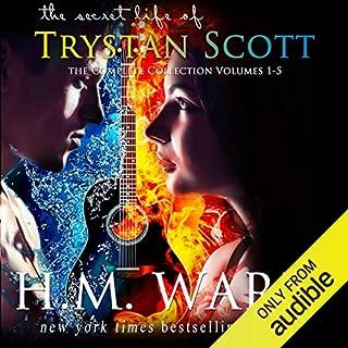 The Secret Life of Trystan Scott audiobook cover art