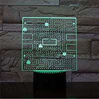 3D-Effekt und Umweltschutz: 3D-Version Effekt - vor allem im Dunkeln oder ein Foto machen, wird die Vision Nervenkitzel stark sein. Acryl-Material, das Licht wird transparenter sein. Niedriger Energieverbrauch. Leistungsausgaben: 0,012 kWh / 24 Stund...