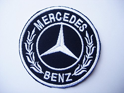 Mercedes-Benz Emblem Logo Motor Company Automaker Car Racing Badge Iron On Patch