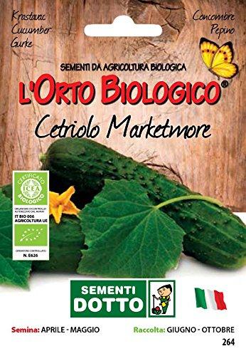 Sdd O.Bio_Cetriolo Marketmore Semi, 0.02x15.5x10.8 cm