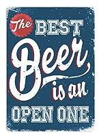 Best Beer ティンサイン ポスター ン サイン プレート ブリキ看板 ホーム バーために