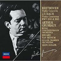 ベートーヴェン:ヴァイオリン協奏曲、他(モノラル録音)