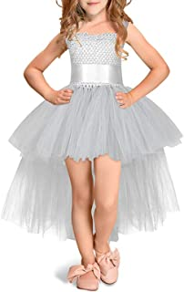 Yamyannie-Gdr Vestido de Baile de Las niñas, Espectáculo de Rendimiento de Navidad de Halloween Catwalk Girl Lace Puff Pri...