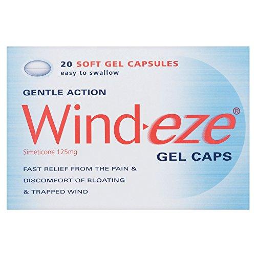 6 x Wind-eze Gel Caps 20 Soft Gel Capsules
