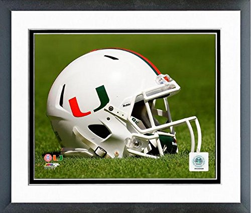 Miami Hurricanes Football Helmet Photo (Size: 12.5