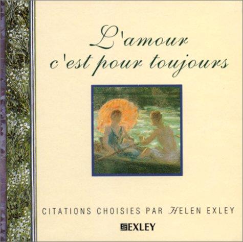 L'AMOUR C'EST POUR TOUJOURS (Livres-miniatures)