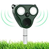 Best Animal Repellers - Jahy2Tech Solar Ultrasonic Animal Repeller,PIR Sensor with Trigger Review