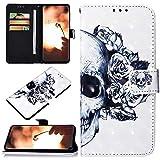 Robinsoni Custodia Compatibile con LG X Power 3 Case Portafoglio Cover Libro Case Pelle PU...