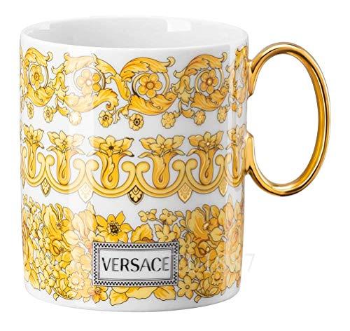 Versace Rosenthal by Medusa Rhapsody - Becher mit Henkel - Henkelbecher - Kaffeebecher - 300 ml - Porzellan