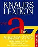 Knaurs Lexikon von A - Z (Knaur-HC) - Karl Peltzer