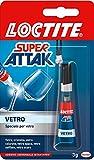 Loctite, 2047412,  Super Attak Vetro, 3g