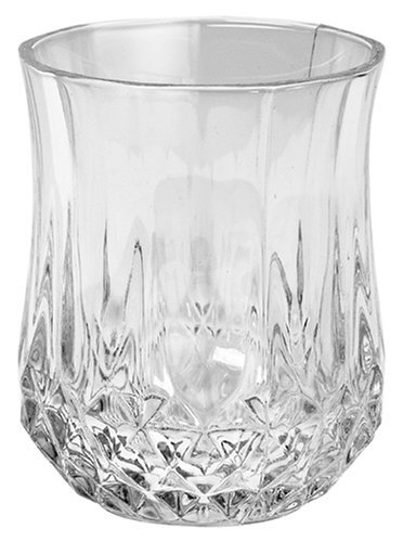 Cristal D'Arques Longchamp 1 1/2-Ounce 'Small' Shot Glasses, Set of 6