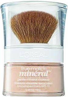 L'Oreal Paris True Match Mineral Loose Powder Foundation, Natural Ivory, 0.35oz