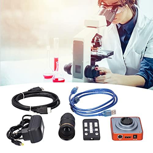 Fotocamera per microscopio da 40 MP, fotocamera per microscopio elettronico da 40 MP USB 2.0 con attacco a C da 64 GB per EU AC100‑240V