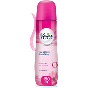 Veet Spray On Hair Removal Cream For Normal Skin 150 Ml Amazon
