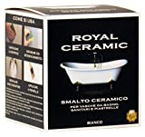 Brava RC3 Royal Ceramic Smalto per Vasche da Bagno, Bianco, 375 ml