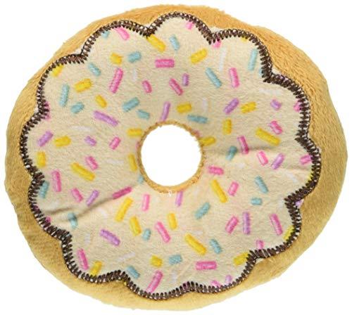 PET'S REPUBLIC THパティスリー ドーナッツ カラフルチョコソース ホワイト S サイズ