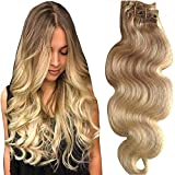 Best Clip In Hair Extensions - Full Head Clip in Hair Extensions Body Wave Review