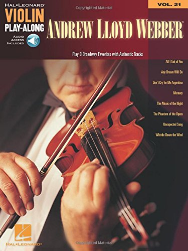 Violin Play-Along Volume 21: Andrew Lloyd Webber: Play-Along, CD für Violine