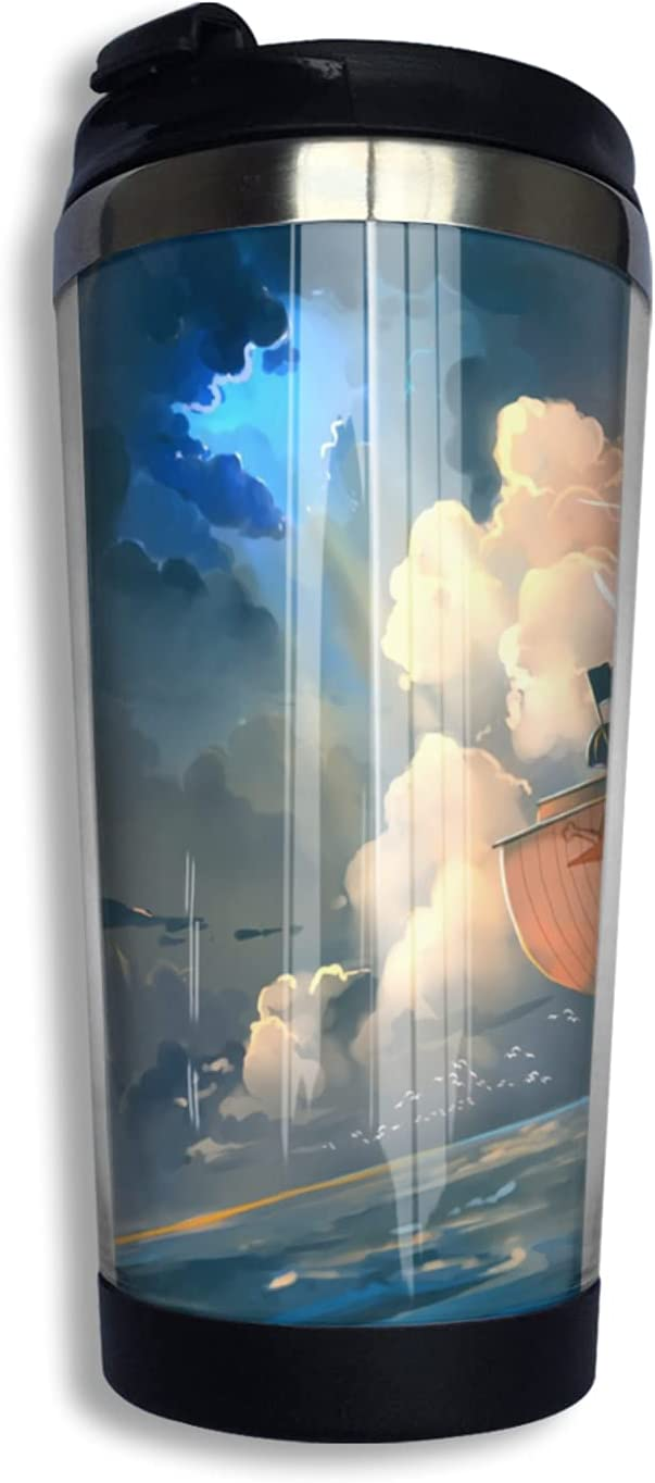 store One Piece Anime Coffee Cup Cute Thermos Our shop most popular 3d Mug Print