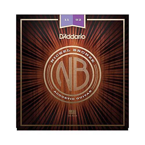 D Addario Nb1152 Corde Per Chitarra Acoustica, Leggere