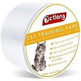 テープ式猫用保護フィルム 半透明 家具保護 ソファ傷防止 犬用 猫用 ペット壁 保護シート 爪とぎ対策 ペット用品
