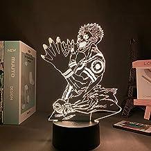 Anime Jujutsu Kaisen Light Satoru Gojo Vakantiegift Manga Kinderen Slaapkamer Decoratie Tafellamp 3D Lamp Satoru Gojo, 7 k...