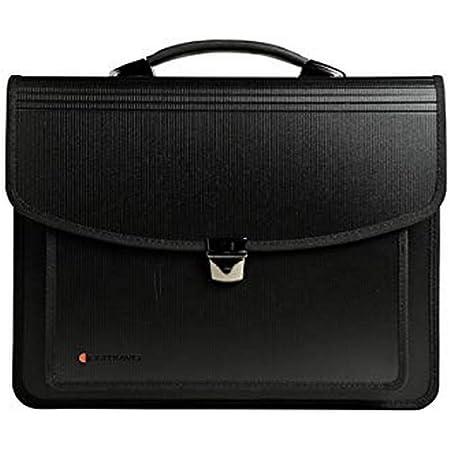 Exacompta - Réf. 55734E - 1 EXATRAVEL Valisette multifonctions Exactive polypropylène - équipée d'un compartiment trieur, d'un espace pour ordinateur portable- dimension 40 x 30 x 10 cm-couleur noir