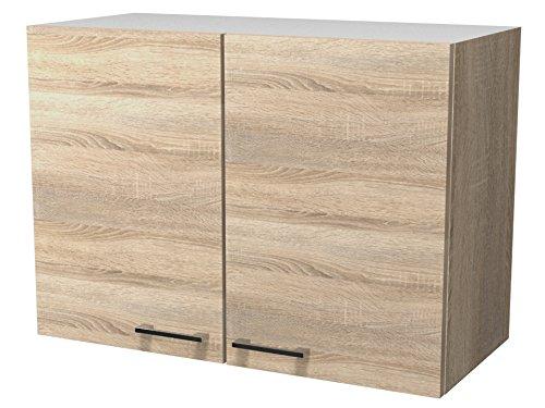 Flex-Well Küchen-Hängeschrank SAMOA - Oberschrank - 2-Türig,80 x 54.8 x 32 cm