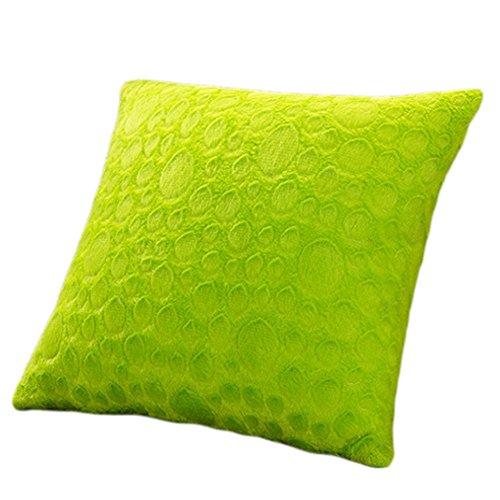 Cojín verde chillón