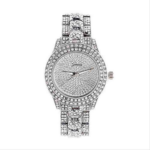 BDDLLM Armbanduhr Rose Gold Steel Belt Damen Luxusuhren Außenhandel Burst Quarzuhr Großhandel Silber