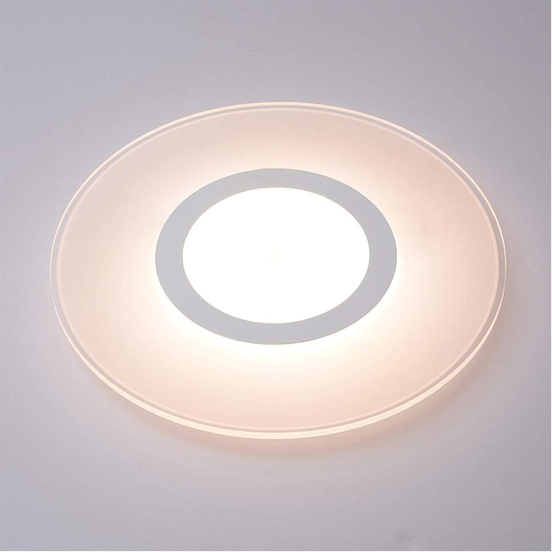 Jinxuny Modern Led Ceiling Lights Lamp for Bedroom Study Room Lustres 12cm/20cm White/Warm White Light (Size : 20CM White Light)