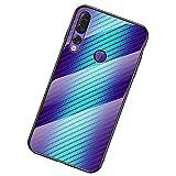 BINGRAN Lenovo Z5s Case, [Hyun Color Style] Carbon Fiber