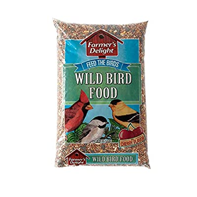 Wagner's 53003 Farmer's Delight Wild Bird Food, With Cherry Flavor
