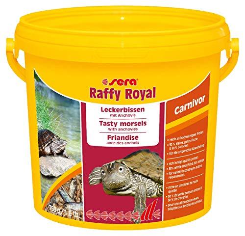 Sera 32296 Raffy Royal Sabrosos bocados con anchoas secas de pesca (50%) y camarones (50%) para Tortuga