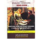 CBCS English Honours Hand book British Poetry and Drama ( 14th To 17th Century)(CORE PAPER-CC - 4 SEMISTER-2 OF CALCUTTA UNIVERSITY)