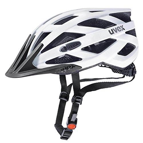 Uvex Fahrradhelm i-vo cc, White-Black mat, 56-60 cm