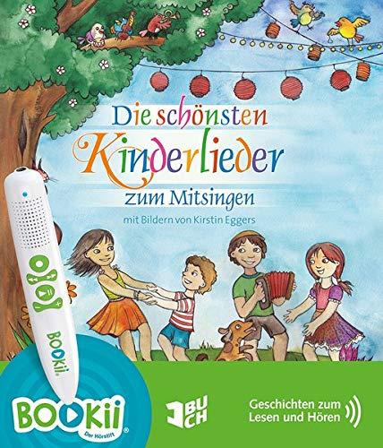 Die schönsten Kinderlieder zum Mitsingen (BOOKii-Version): mit Bildern von Kirstin Eggers: sprachcodiert für TING und BOOKii