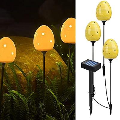 Amazon - 50% Off on Outdoor Solar Garden Lights, Waterproof Led Landscape Lights, 3 Pack