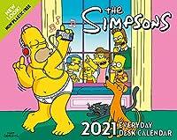 The Simpsons 2021 Desk Block Calendar - Official Desk Block Format Calendar