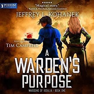 A Warden's Purpose audiobook cover art