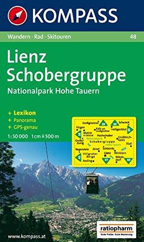 Lienz, Schobergruppe, Nationalpark Hohe Tauern: 1 : 50  000: Wander-, Bike- und Skitourenkarte. Mit Panorama. GPS-genau