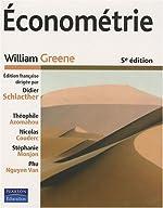 Econométrie (1Cédérom) de William Greene