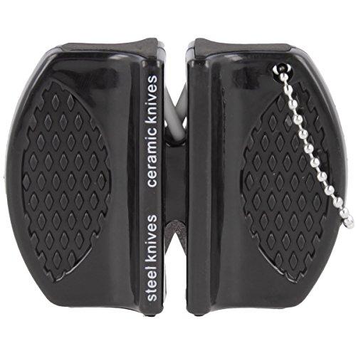 Premium micro messenslijper messenslijper keramische slijper met twee scherptestanden
