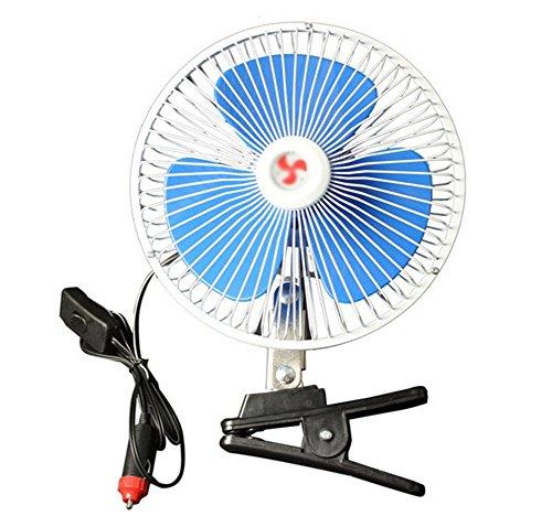 Demarkt Auto coche Ventilador Ventilador y grados ajustable potentes ventiladores filtro de aire 12V Auto aire acondicionado Fan