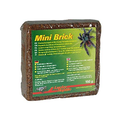 Lucky Reptile 65102 Mini Brick, Terrarienhumus für Frösche und Spinnen, 160 g